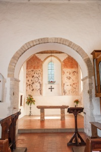 Late Norman chancel arch