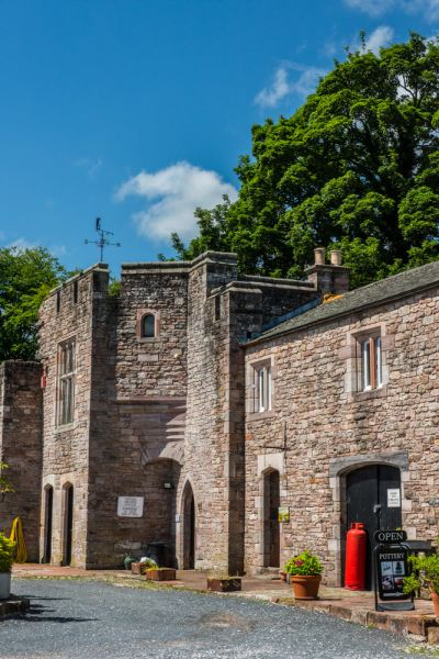 Brougham Hall photo, The 1700 pele tower