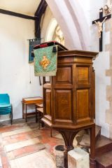 The wineglass pulpit