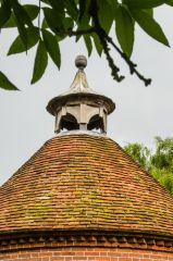 A closer look at the dovecote cupola