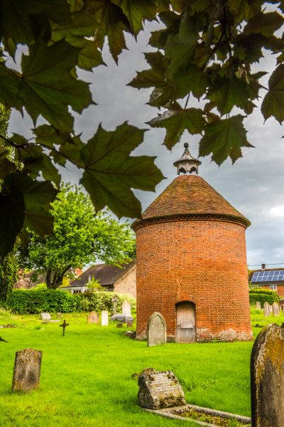 Broughton, St Mary's Church photo, Another look at the 17th century dovecote