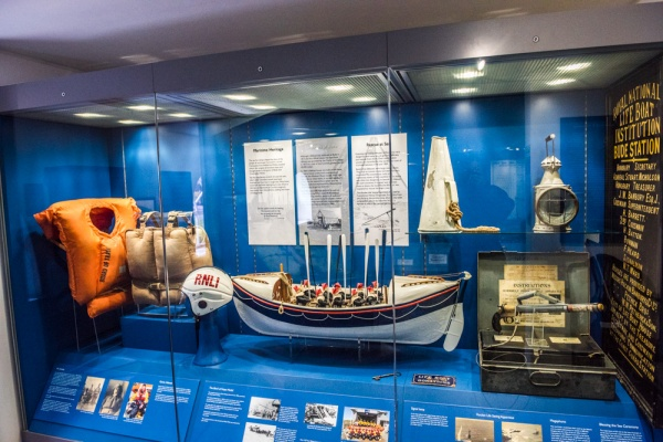 The Bude lifeboat exhibition