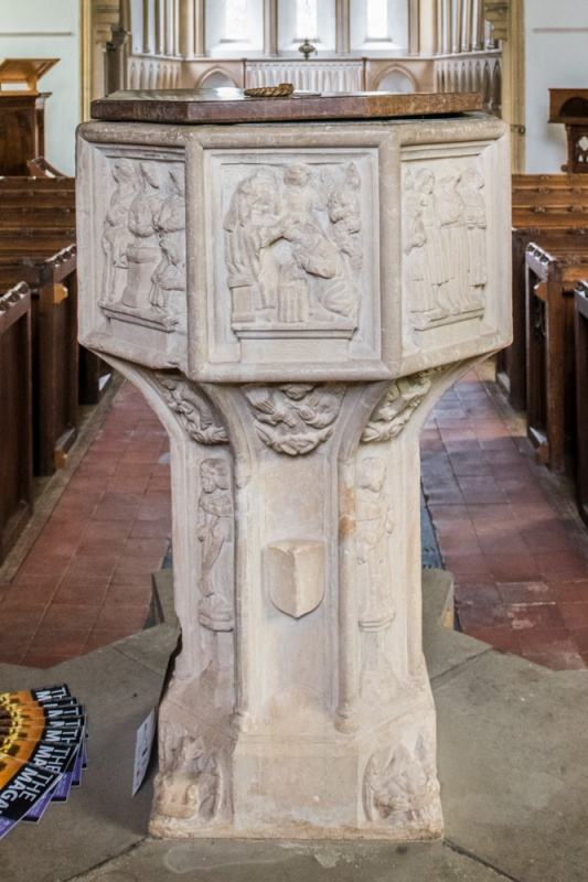 The Seven Sacrament font