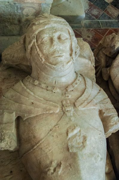 Burley, Holy Cross Church photo, Another look at the 15th century knight's effigy