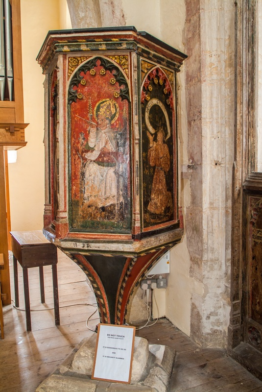 The 1450 wine glass pulpit
