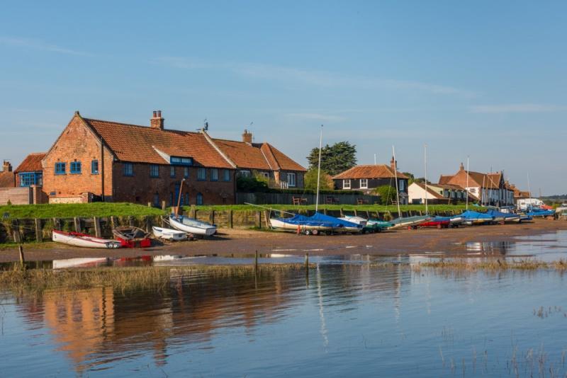 Burnham Overy, Norfolk   History & Photos