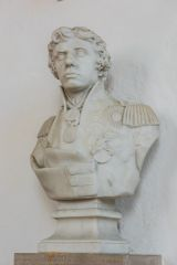 Bust of Admiral Nelson in All Saints church