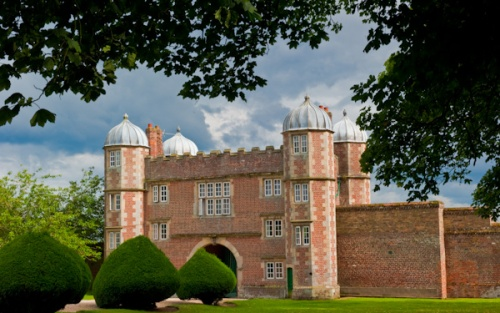 Burton Agnes Hall gatehouse