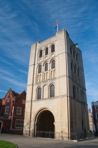 The Norman bell tower