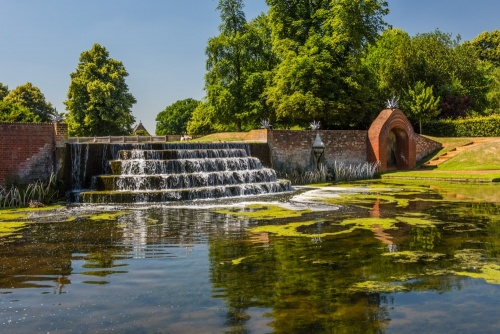 The Water Gardens in Bushy Park