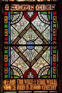 19th century Wailes memorial window