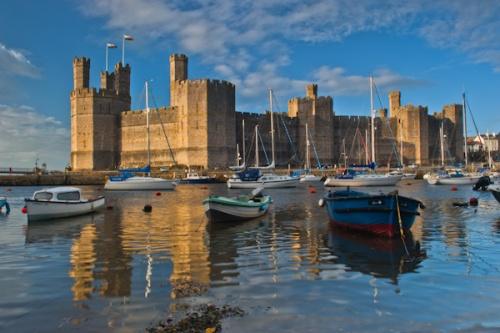 Caernarfon Castle Historic Wales Guide