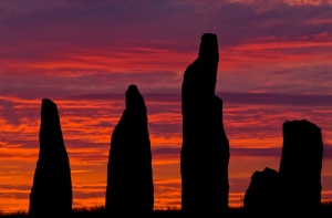 Sunrise at Callanish