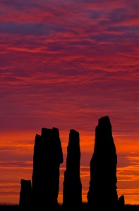 The Callanish stones at Dawn