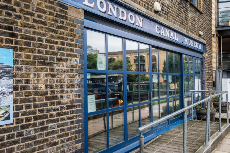 London Canal Museum entrance