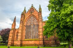Carlisle Cathedral, The superb east window