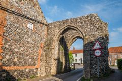 The 13th century Bailey Gate