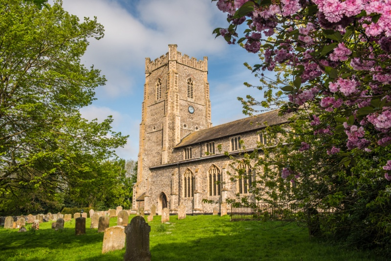 Castle Acre St James The Great Church History Photos