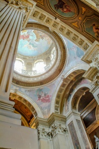The dome at Castle Howard, Yorkshire