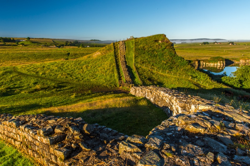 Hadrian's Wall at Cawfield