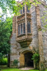 The 15th century Abbot's Porch