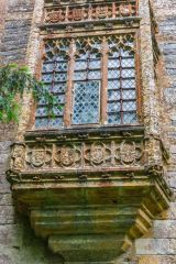 Oriel window on the Abbot's Porch
