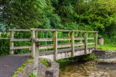 Charminster, Footbridge across the River Cerne