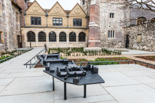 The Courtyard Entrance To Charterhouse ...