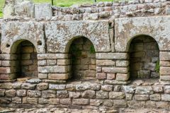 Chesters Roman Fort, Arches in the bathhouse