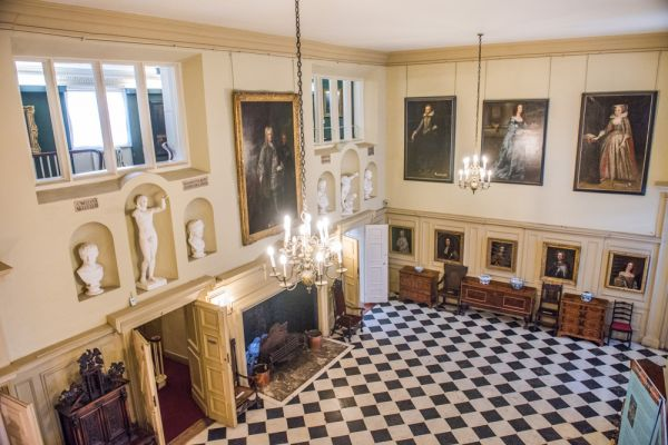 Christchurch Mansion photo, Looking down into the entrance hall