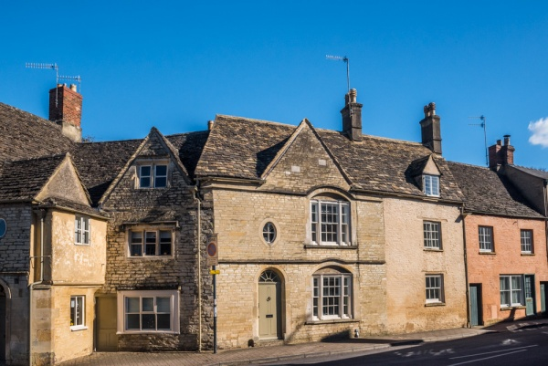 Buildings on Park Street, Cirencester