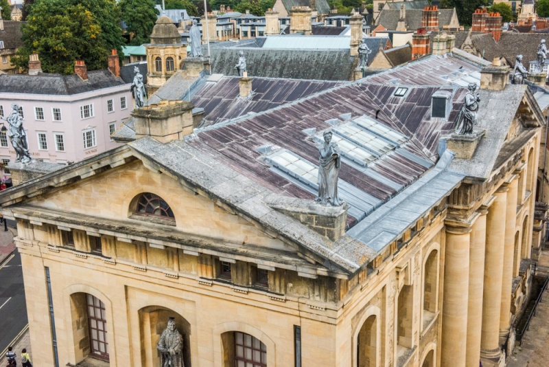 The Clarendon Building from the Sheldonian Theatre cupola