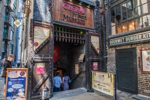 The Clink Prison Museum entrance