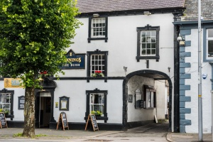 An old coaching inn on Main Street in Cockermouth