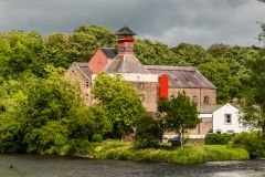 Cockermouth, Jennings Brewery, on the River Derwent