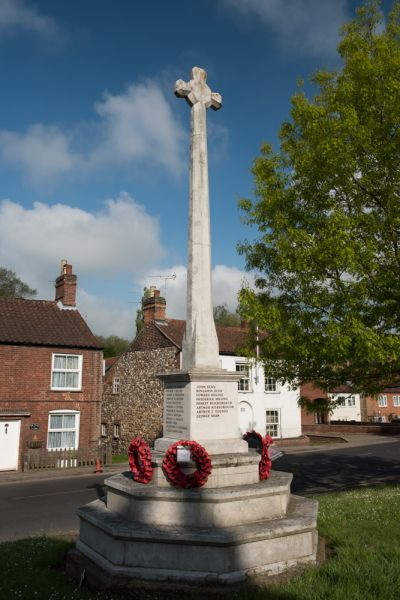 Coltishall photo, The village war memorial