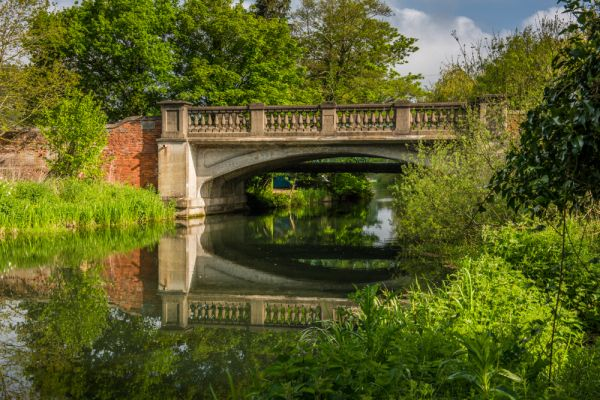 Coltishall photo, The haunted bridge at Coltishall