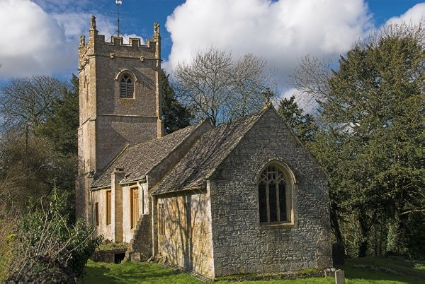 St Oswald's church, Compton Abdale