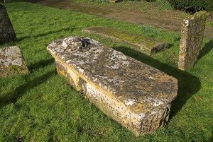 14th century table tomb