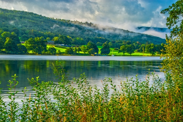 Coniston Water looking towards Brantwood
