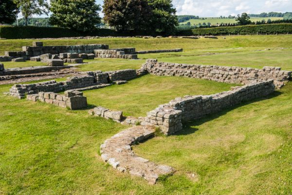 Corbridge Roman Town photo, The second phase of fort building