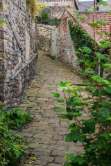 St Mary's Chare cobbled alley