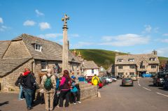 Corfe Castle village, The market cross