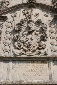 Lady Hungerford coat of arms