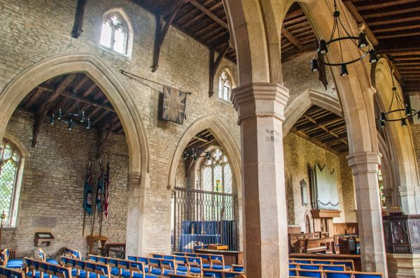 Cottesmore, St Nicholas Church photo, The nave and south aisle arcade