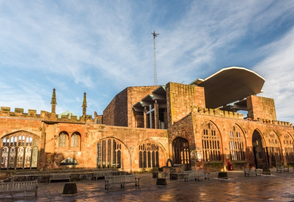 Coventry Cathedrals, new and old