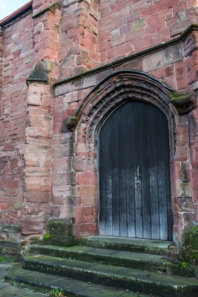 14th century friary doorway