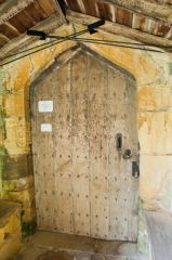 The 15th century south door