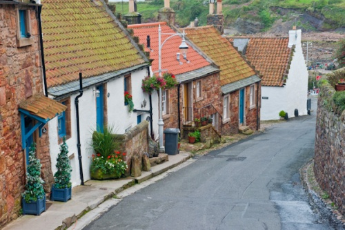 A picturesque lane in Crail
