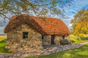 Old Leanach Cottage, Culloden Battlefield